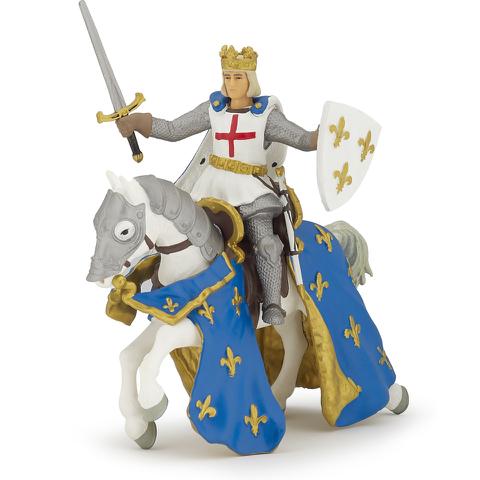 Papo Medieval Era: Saint Louis and His Horse