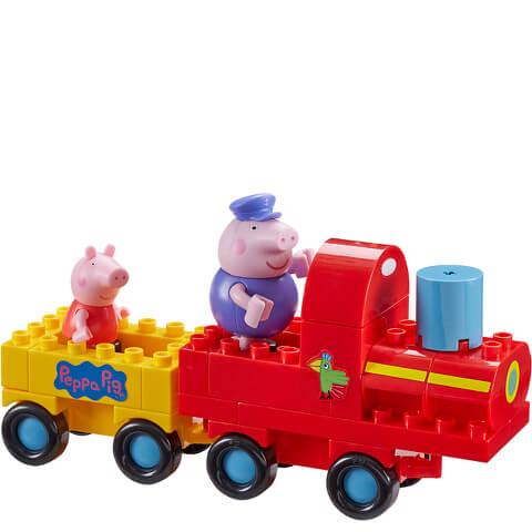 Peppa Pig Construction: Grandpa Pig's Train Set