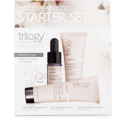 Trilogy Discover Starter Set - For Sensitive Skin