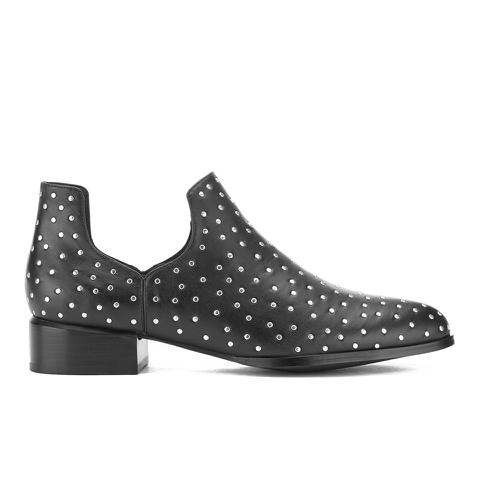 Senso Women's Dalby I Studded Leather Ankle Boots - Ebony