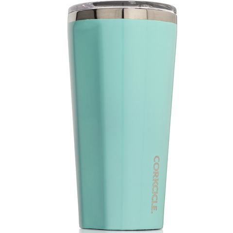 Corkcicle Canteen Triple Insulated Tumbler 16 oz - Gloss Turquoise