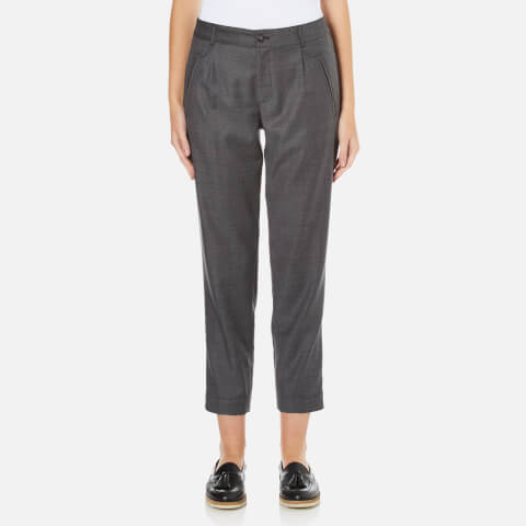 A.P.C. Women's Isabelle Cropped Trousers - Grey