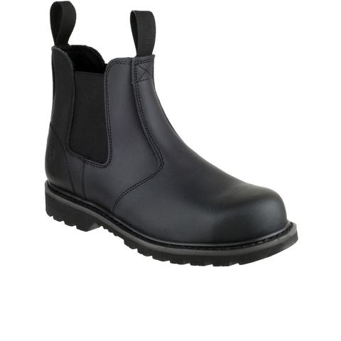 Amblers Safety Men's FS5 Chelsea Boots - Black