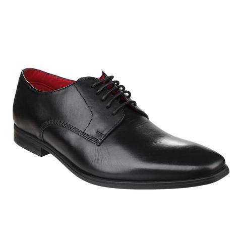 Base London Men's George Derby Shoes - Black