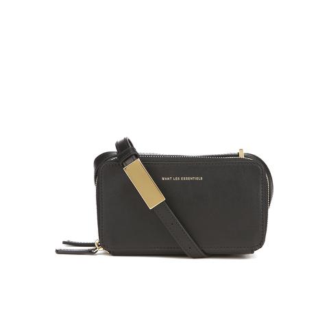WANT LES ESSENTIELS Women's Mini Demiranda Shoulder Bag - Jet Black