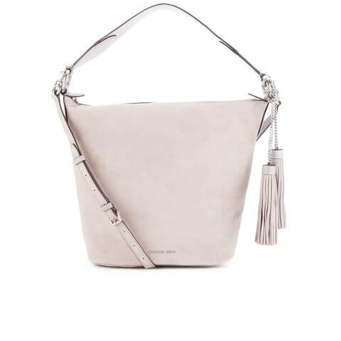 MICHAEL MICHAEL KORS Elana Large Tassel Shoulder Bag - Cream