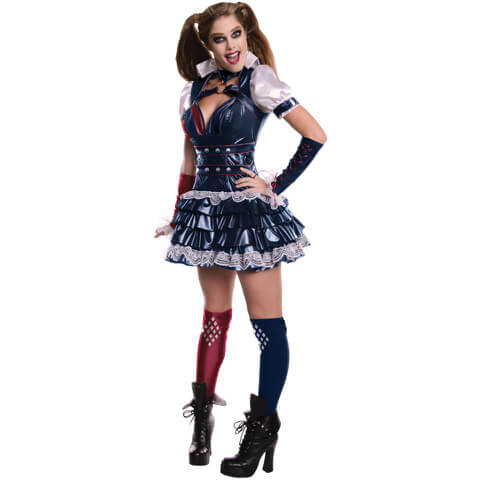 DC Comics Women's Harley Quinn Fancy Dress