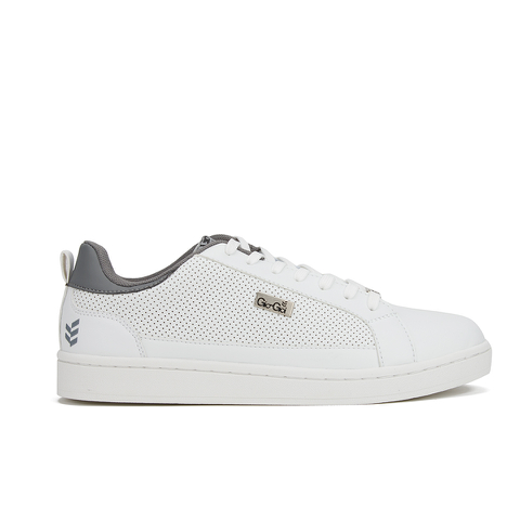 Gio Goi Men's Shepshed Perf Trainers - White