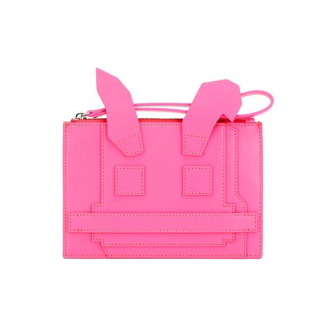 McQ Alexander McQueen Women's Electro Bunny Pouch - Pink