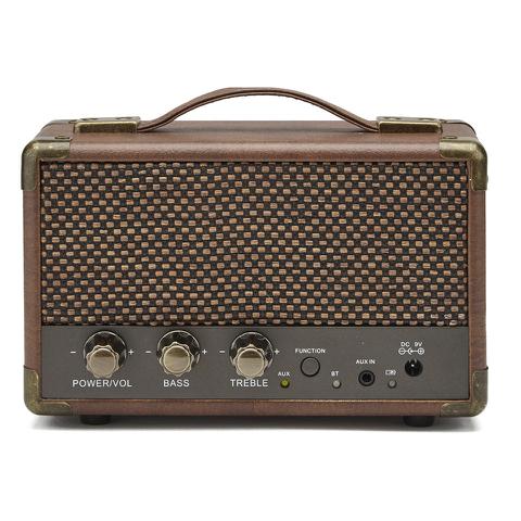 GPO Retro Mini Westwood Bluetooth Speaker - Brown