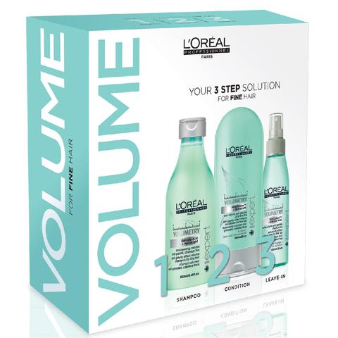 L'Oréal Professionnel Série Expert Volumetry 3 Step Kit
