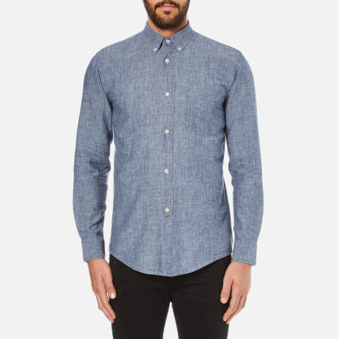 Our Legacy Men's 1940's Shirt - Chambray Blue
