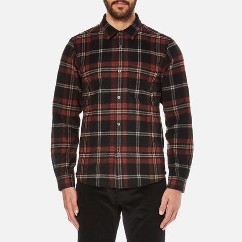A.P.C. Men's Trevor Checked Shirt - Noir