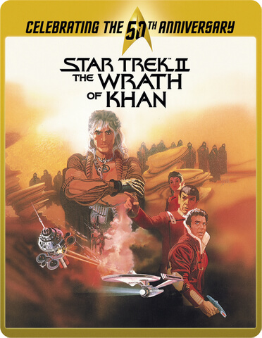 Star Trek 2 - The Wrath Of Khan Director's Cut (Limited Edition 50th Anniversary Steelbook)