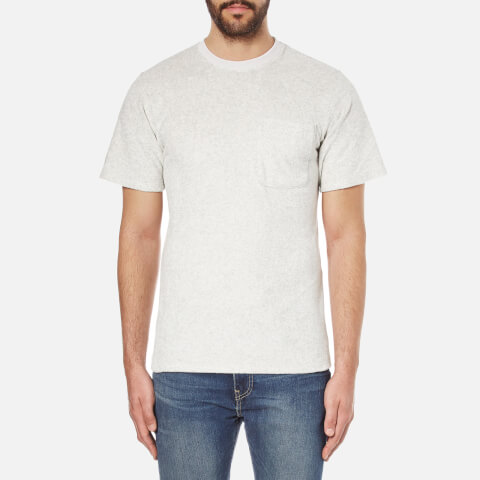 A Kind of Guise Men's Qanate Pocket T-Shirt - Light Grey