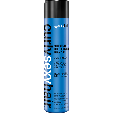 Sexy Hair Curly Curl Defining Shampoo 300ml