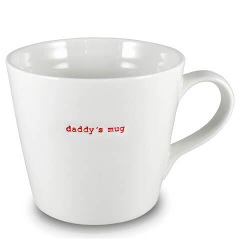 Keith Brymer Jones Daddy's Large Bucket Mug - White