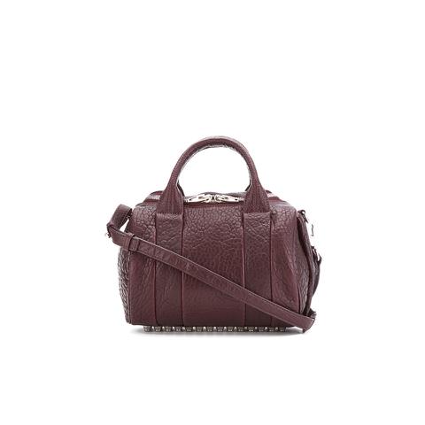Alexander Wang Women's Rockie Bowler Bag with Silver Hardware - Beet