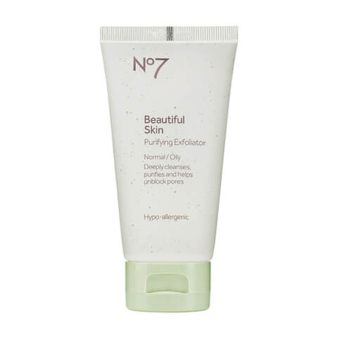 Boots No.7 Beautiful Skin Purifying Exfoliator - Normal to Oily