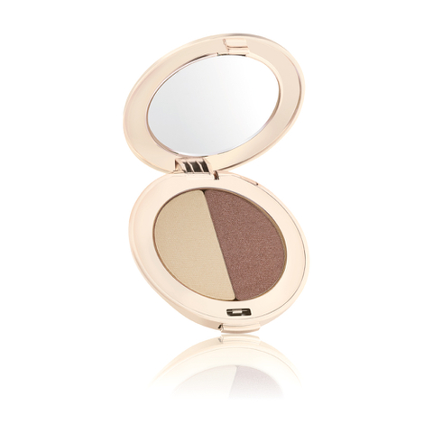 Jane Iredale PurePressed Duo Eye Shadow - Oyster And Supernova
