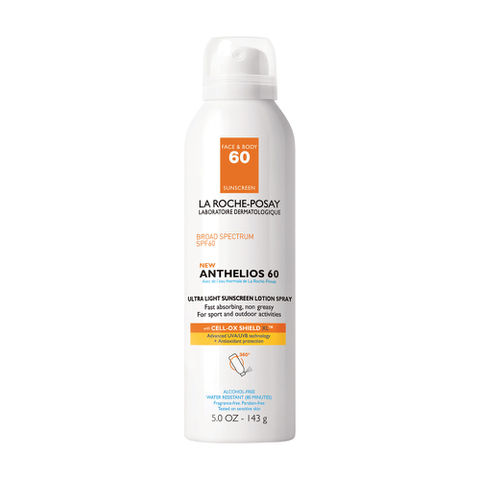 La Roche Posay Anthelios 60 Ultra Light Sunscreen Spray