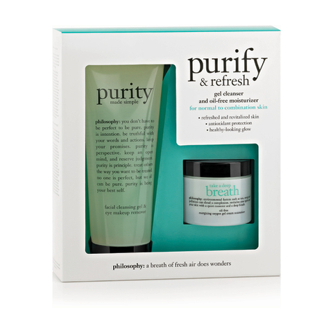 Philosophy Purify and Refresh Kit