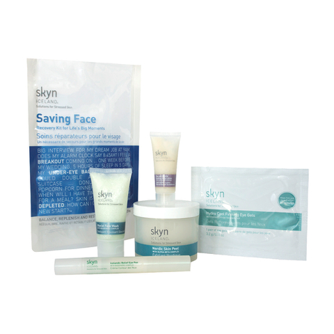skyn ICELAND Saving Face Kit