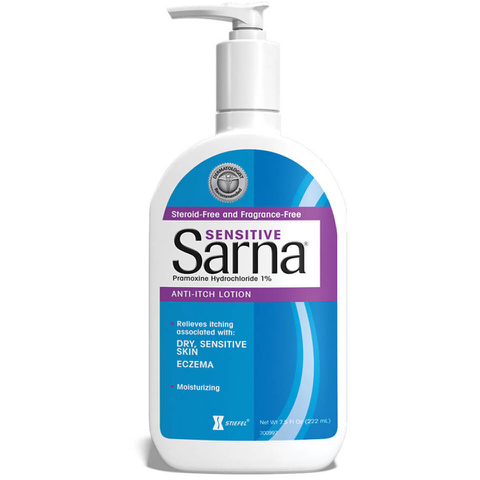 Stiefel Sarna Sensitive Anti-Itch Lotion