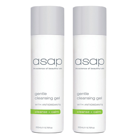 2x asap gentle cleansing gel - 200ml