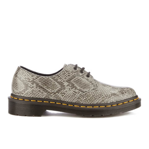 Dr. Martens Women's 1461 Viper 3-Eye Shoes - Light Grey
