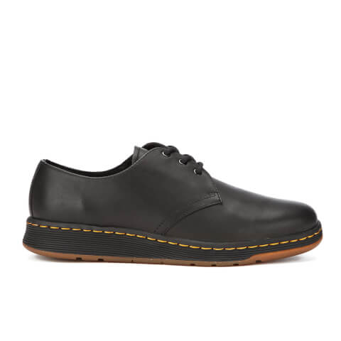 Dr. Martens Men's Lite Cavendish 3-Eye Shoes - Black