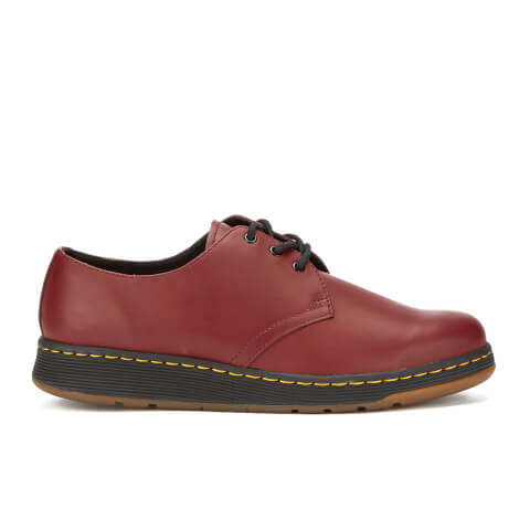 Dr. Martens Men's Lite Cavendish 3-Eye Shoes - Cherry Red