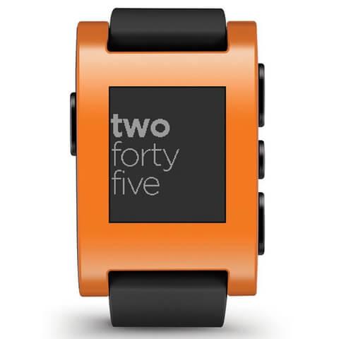 Pebble Classic Smartwatch - Orange
