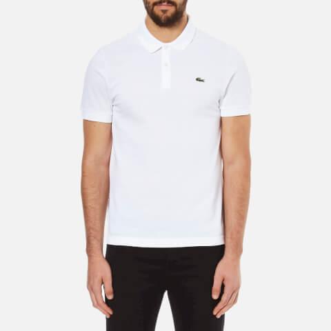 Lacoste L!ve Men's Short Sleeve Polo Shirt - White