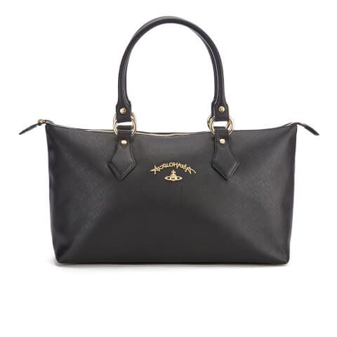 Vivienne Westwood Women's Divina Tote Bag - Black