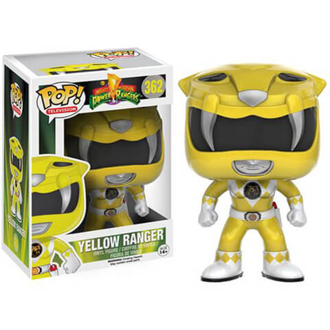Mighty Morphin Power Rangers Gelb Ranger Funko Pop! Figur