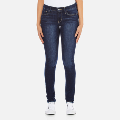 Levi's Women's 710 Super Skinny Fit Jeans - Amber Night