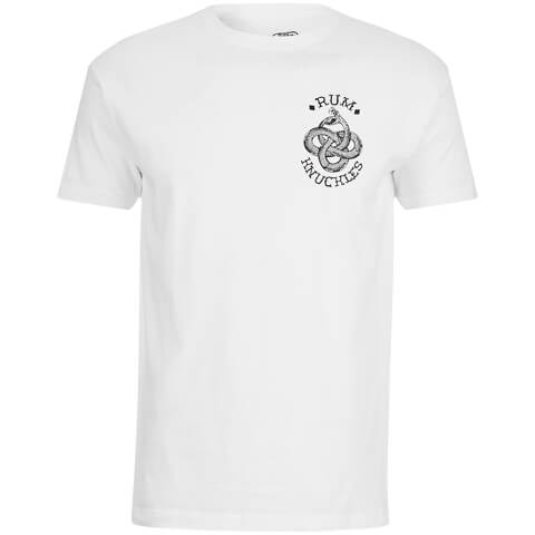 Rum Knuckles Eternal Snake T-Shirt - Wit