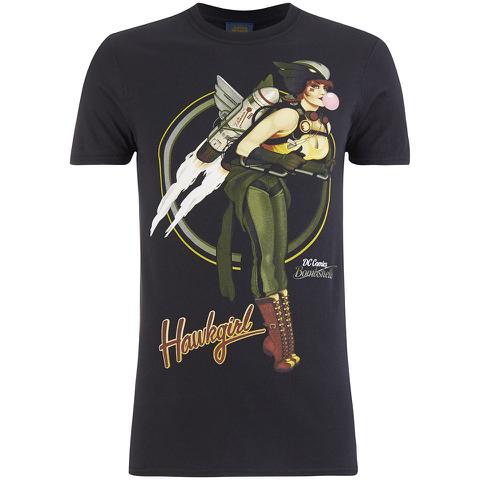 DC Bombshells Men's Hawkgirl T-Shirt - Black