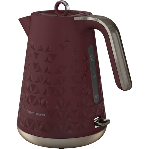 Morphy Richards 108253 Prism Kettle - Merlot