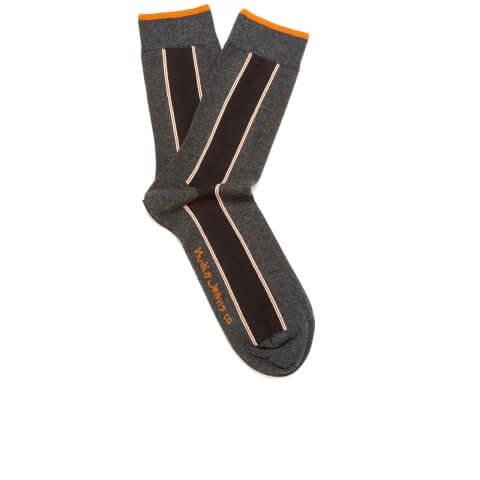 Nudie Jeans Men's Selvedge Socks - Dark Grey