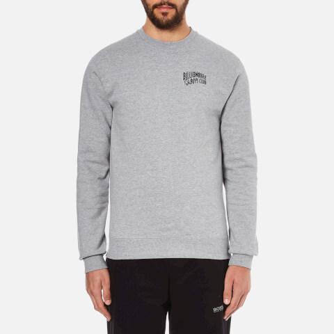 Billionaire Boys Club Men's Small Arch Logo Sweatshirt - Heather Grey