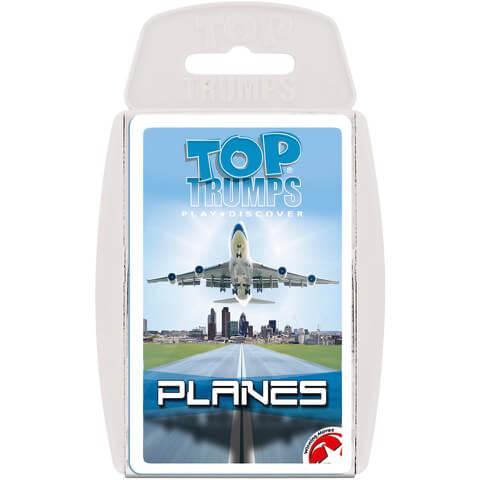 Classic Top Trumps - Passenger Planes