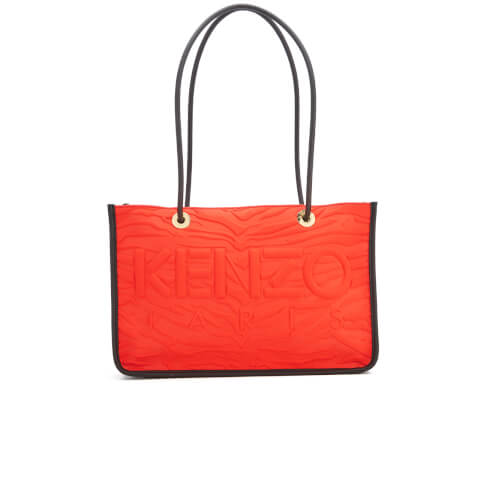 KENZO Women's Kombo East West Tote Bag - Red/Pink