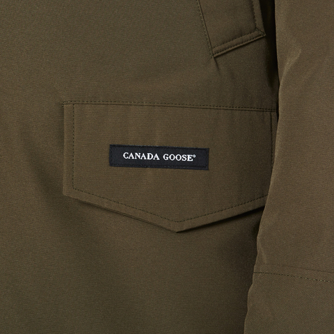 Canada Goose chateau parka outlet store - Canada Goose Men's Langford Parka - Military Green - Free UK ...