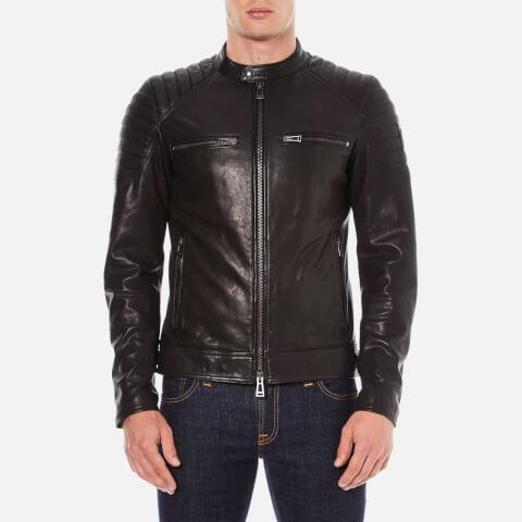Belstaff Men's Stoneham Leather Jacket - Black