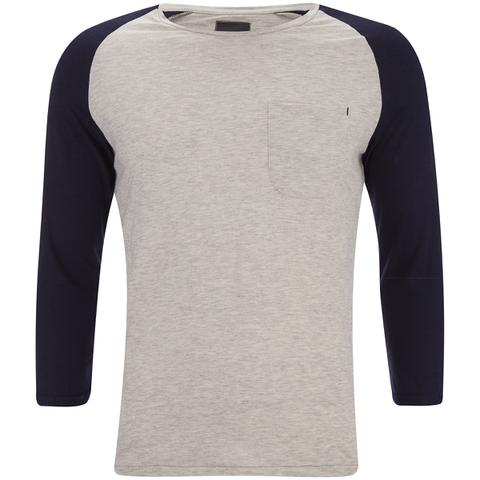 Produkt Men's 3/4 Sleeve Raglan Top - White Melange