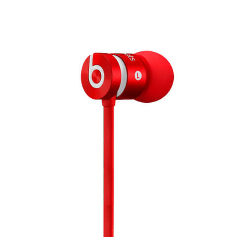 Beats by Dr. Dre: urBeats 2 Earphones - Red (Manufacturer Refurbished)