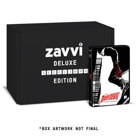 Daredevil - Season 1 Zavvi UK Exclusive Steelbook - Deluxe Collector's Edition