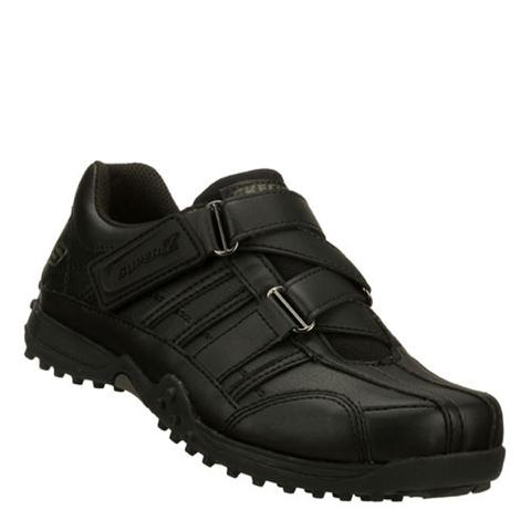 Skechers Kids' Urbantrack II Velcro Trainers - Black